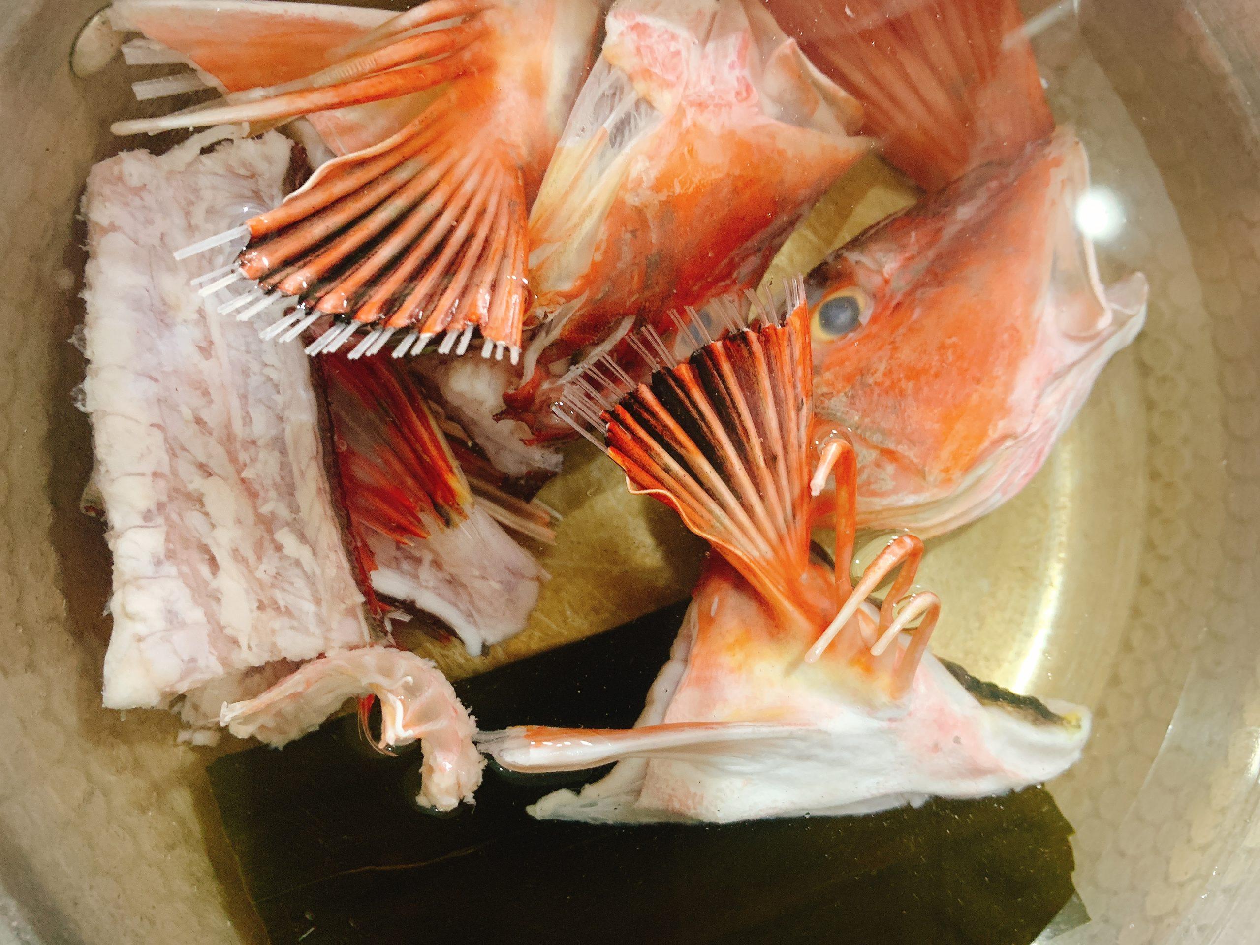 魚 お味噌汁