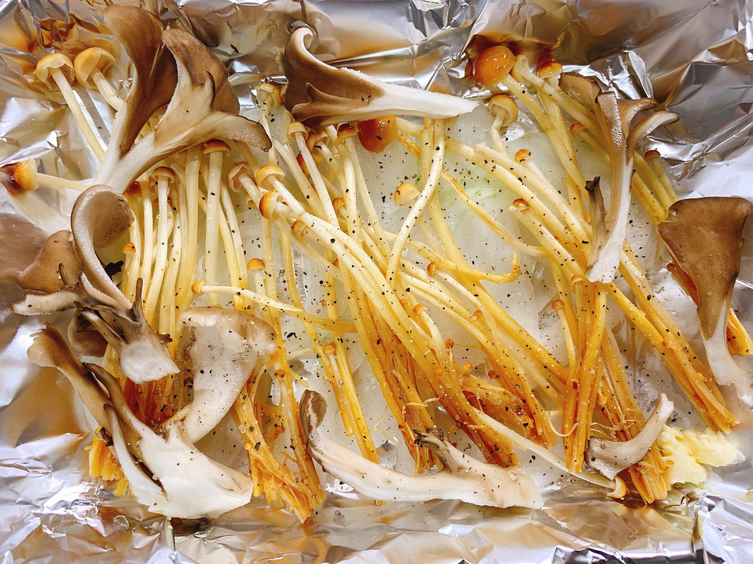 鮭 白子 ホイル焼き